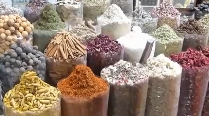 Buy Spices In Dubai - Inside The Spice Souk